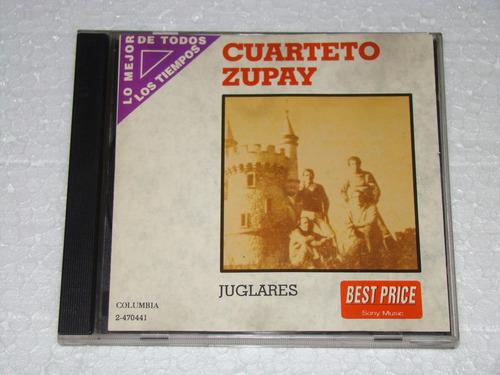 cuarteto zupay juglares cd excelente estado
