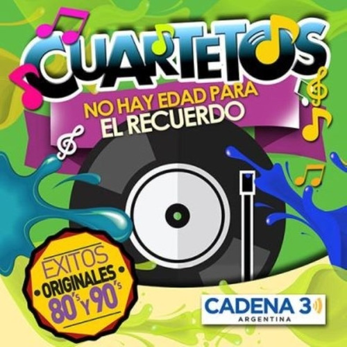 cuartetos no hay edad para el recuerdo various cd nuevo