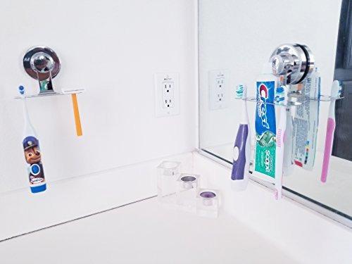Cuarto De Baño Accesorios Cepillo Para Polvo De Dientes Tit