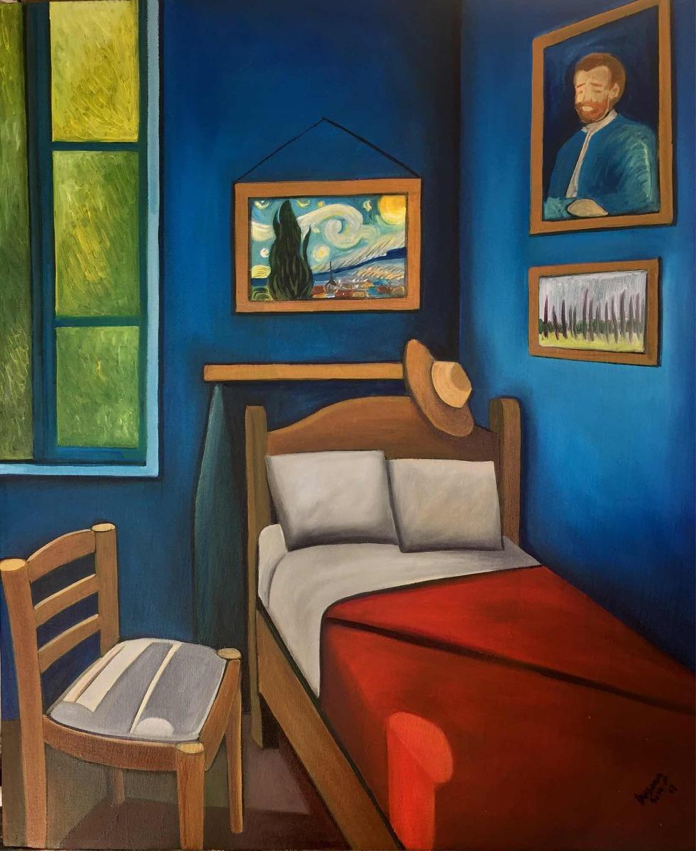 Cuarto De Vincent Van Gogh Óleo De Poblette - $ 4,000.00 en Mercado ...