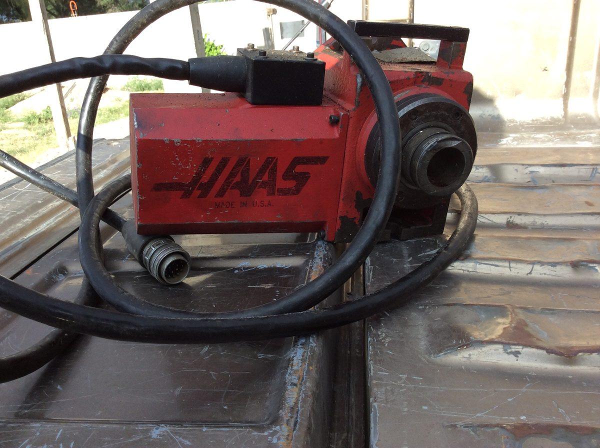 Cuarto Eje Haas Para Centro De Maquinado Cnc Vendo O Cambio ...