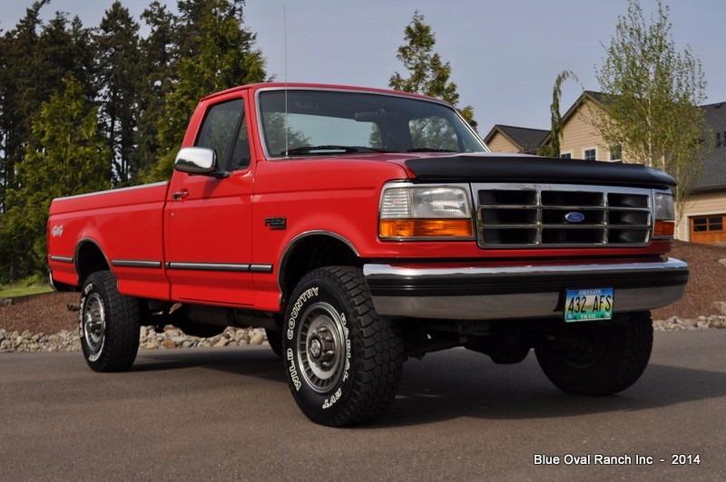 1992 Ford F250 >> Cuarto Frontal Ford F-150 F-250 F-350 Modelo 1992-1996 Ambar - $ 259.00 en Mercado Libre