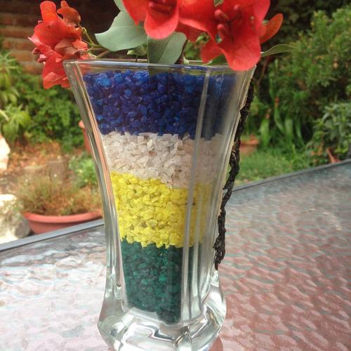 cuarzo de colores piedras decorativas para jardines, deco.