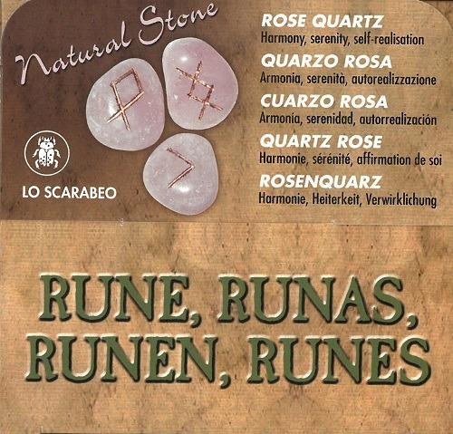 cuarzo rosa (libro + runas), aa.vv., lo scarabeo