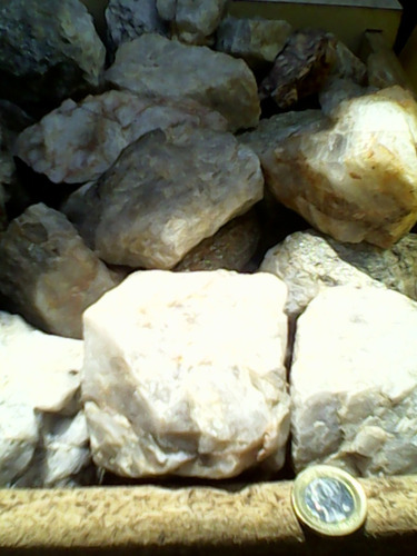 cuarzos originales estado natural caja