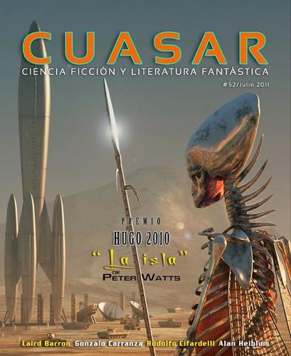 cuásar 52 (noviembre 2011), con cuento ganador premio hugo