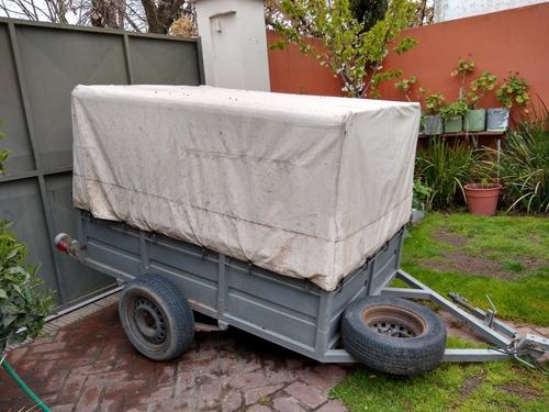 cuatri honda 500 4x4 unica mano. excelente estado c/trailer