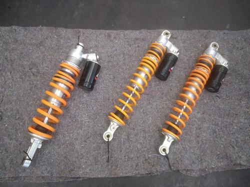 cuatri ktm  sx 505 kit orig de amortig delanteros y trasero