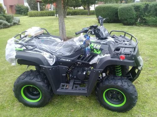 cuatri moto atv 250  modelo 2018 italika