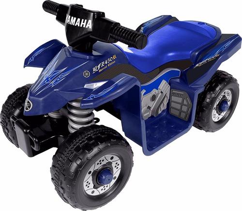 cuatri moto batería yamaha para niños. envío gratis