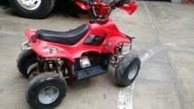 cuatri moto gasolinera para niños