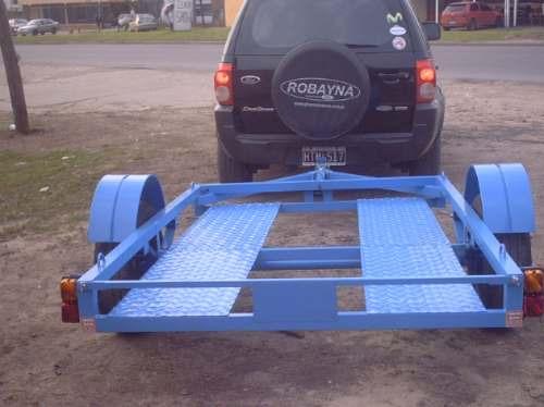 cuatri, moto, trailer