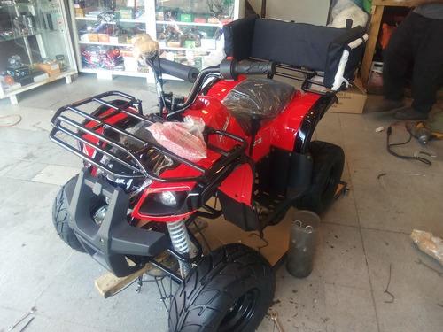 cuatri q7 nuevo 125cc con reversa ideal para 80kg