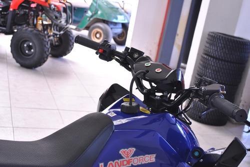 cuatriciclo 0km 125 + funda  de regalo - lanforce motors