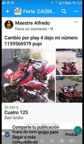 cuatriciclo 125cc