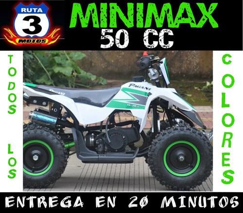 cuatriciclo 50 cc minimax 0 km