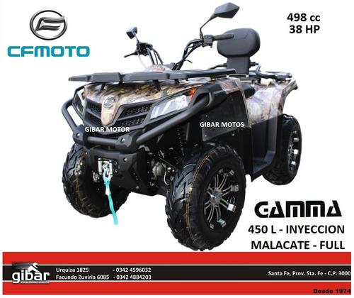 cuatriciclo 520l 0km gamma cfmoto np