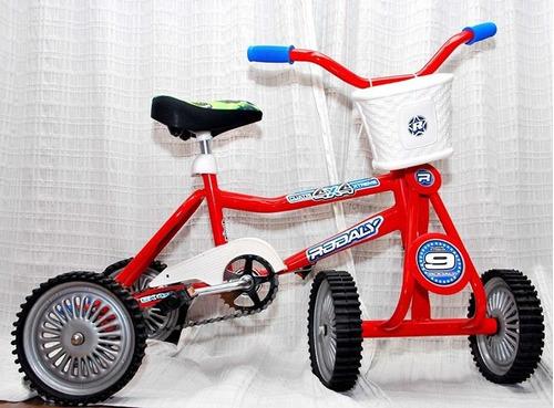 cuatriciclo a pedal para niños de 2 a 5 años