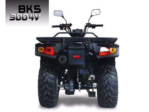 cuatriciclo blackstone 300 4v agrario 30 hp oferta contado