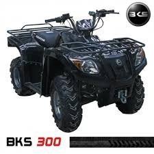 cuatriciclo blackstone 300