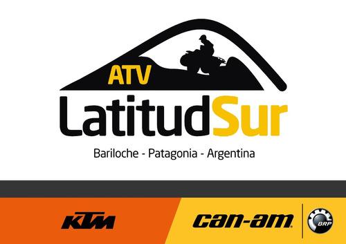 cuatriciclo can am max xt-p 850 2017 0km - atv latitud sur