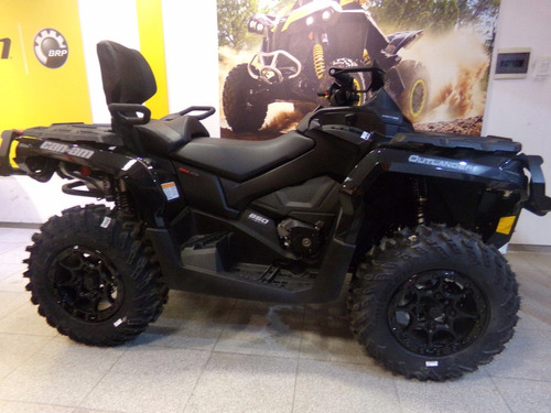 cuatriciclo can am outlander xt-p 850 max 2017 negro