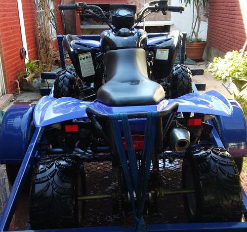 cuatriciclo corven terrain 250 deportivo