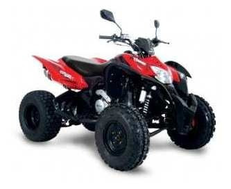 cuatriciclo corven terrain 250 x ! start motos 32