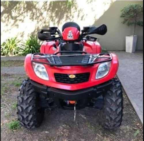 cuatriciclo demon quad + trailer