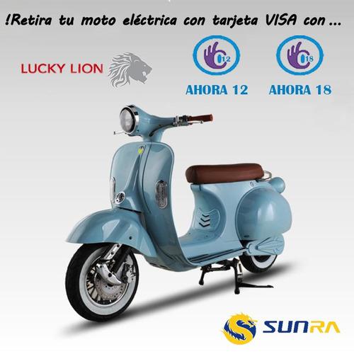 cuatriciclo electrico p/niños sunra a bateria 500w mini atv