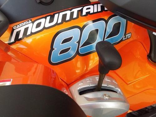 cuatriciclo gamma  atv mountainer 800 cc - agencia oficial