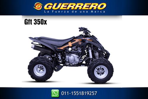 cuatriciclo gft guerrero 350