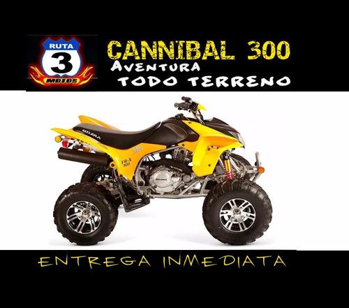 cuatriciclo gilera fr-x 300 cannibal 300 0km 2018 entrega ya