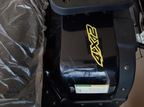 cuatriciclo guerrero gft 250 fourtrack con malacate