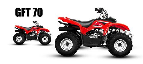 cuatriciclo guerrero gtf 70 - masera motos