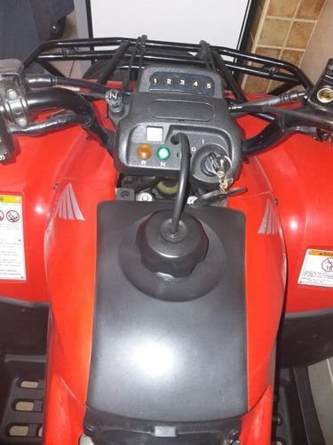 cuatriciclo honda trx 250 cc te  2013 sólo 2 meses de uso