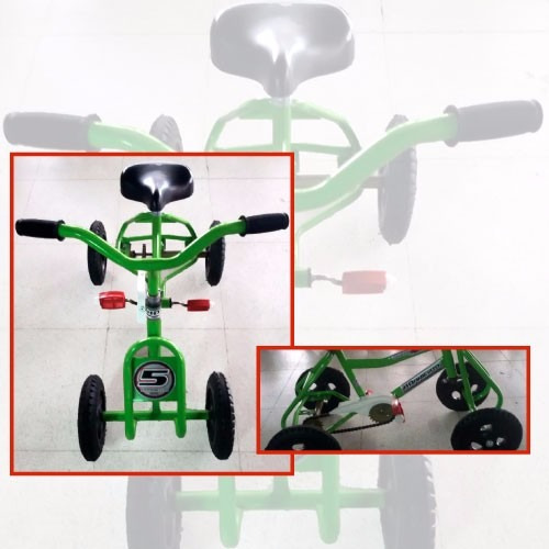 cuatriciclo infantil a pedal