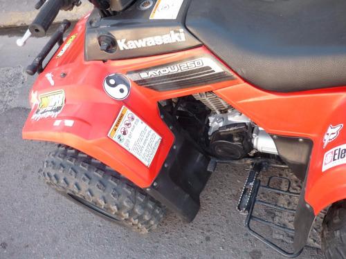 cuatriciclo kawasaki 250 motos march (cod.01)