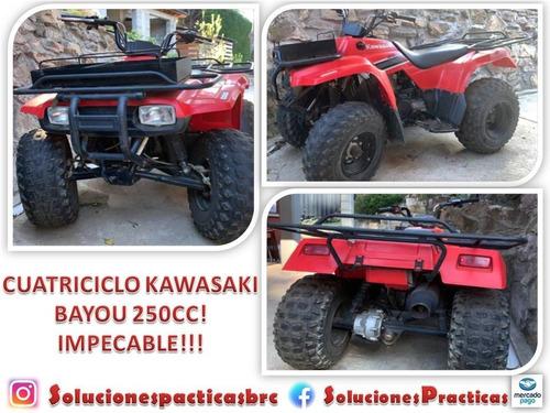 cuatriciclo kawasaki bayou  250cc modelo 2008