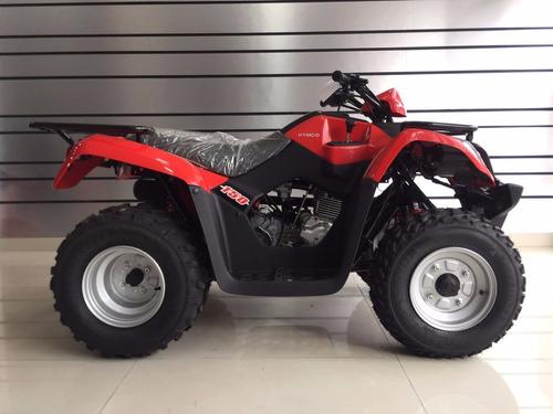 cuatriciclo kymco mxu 150 2018 okm parrillero automatico