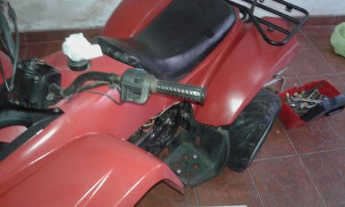 cuatriciclo phanter parrillero 150. año 2012