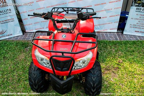 cuatriciclo quad zanella fx 90 cargo 0km urquiza motos