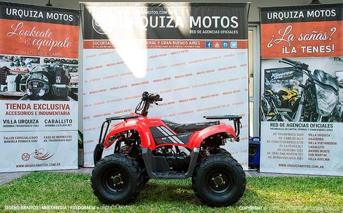 cuatriciclo quad zanella fx 90 cargo urquiza motos 0km 2018