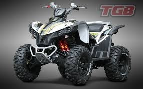 cuatriciclo tgb target 550 deportivo motor rotax