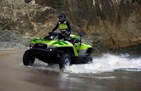 cuatriciclo todo terreno tipo anfibio y moto de agua gibbs