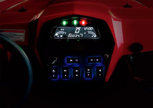 cuatriciclo utv cfmoto 550 ex 4 x 4, modelo 2017