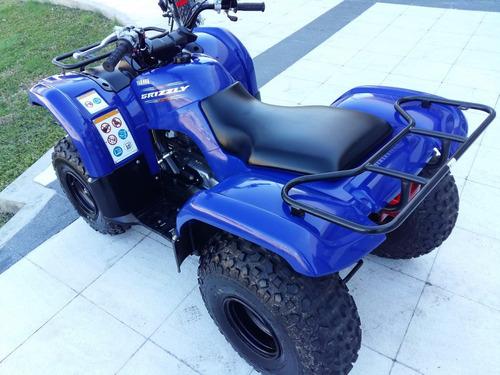 cuatriciclo yamaha grizzly 125 automatico 2013 30km sarthou