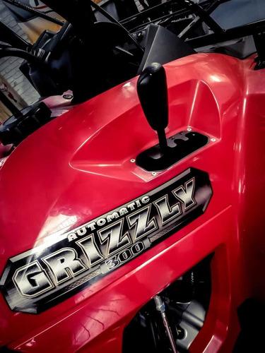 cuatriciclo yamaha grizzly 300 automatico 4x2