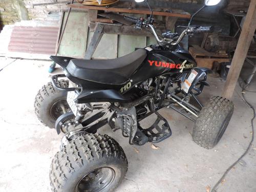 cuatriciclo yumbo track 110