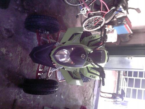 cuatriciclo zanella 150cc impecable